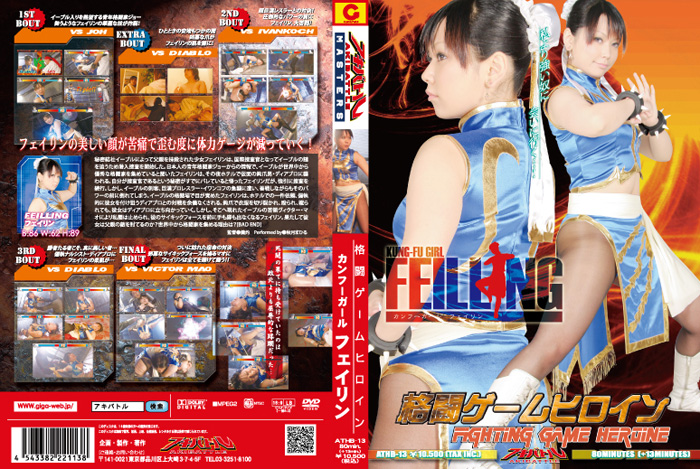 ATHB-13 Fighting Game Heroine Kung Fu Girl Feillng