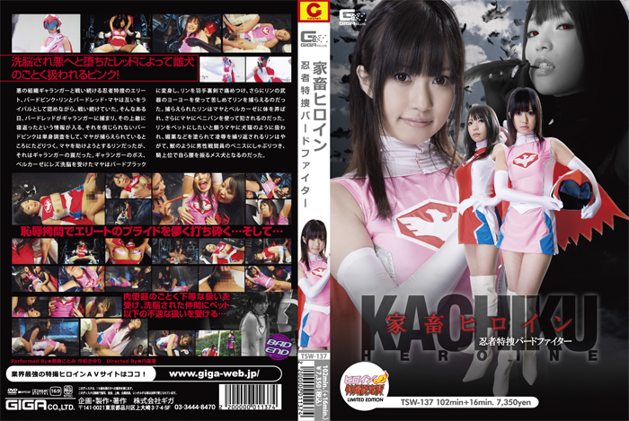 TSWN-038 Domestic Animal Heroine - Ninja Special Agent Bird Fighter