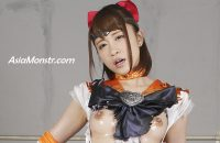 GHKQ-62 Heroine Complete Defeat -Sailor Venus Part 2 Yuha Kiriyama