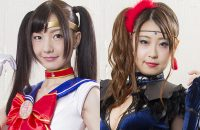 GHKQ-90 Sailor Serene -Targeted Sailor Suit!!- Sakura Hara, Airi Sato